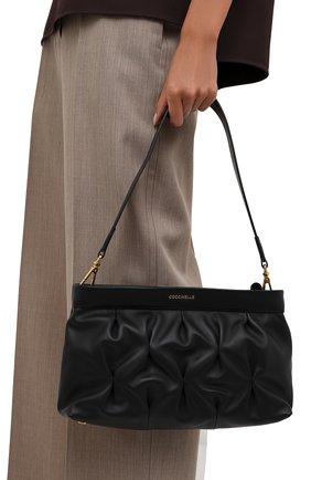 Женская сумка marquise goodie COCCINELLE черного цвета, арт. E1 IC0 19 01 01   Фото 2
