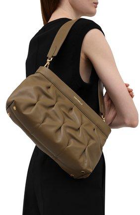 Женская сумка marquise goodie COCCINELLE хаки цвета, арт. E1 IC0 19 01 01   Фото 2