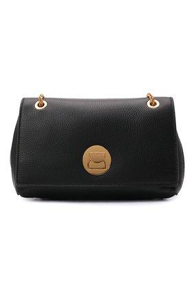 Женская сумка liya small COCCINELLE черного цвета, арт. E1 ID0 12 03 01   Фото 1