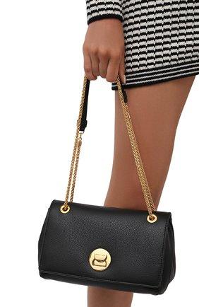 Женская сумка liya small COCCINELLE черного цвета, арт. E1 ID0 12 03 01   Фото 2
