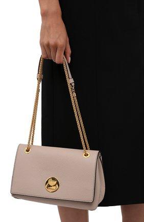 Женская сумка liya small COCCINELLE светло-розового цвета, арт. E1 ID0 12 03 01   Фото 2