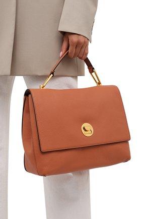 Женская сумка liya COCCINELLE оранжевого цвета, арт. E1 ID0 18 01 01   Фото 2