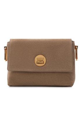 Женская сумка liya suede COCCINELLE темно-бежевого цвета, арт. E1 ID1 12 06 01   Фото 1