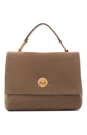 Женская сумка liya suede COCCINELLE темно-бежевого цвета, арт. E1 ID1 18 01 01   Фото 1