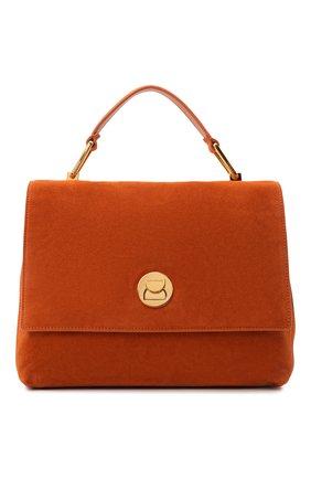 Женская сумка liya suede COCCINELLE оранжевого цвета, арт. E1 ID1 18 01 01   Фото 1