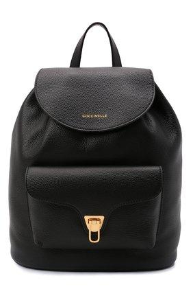 Женский рюкзак beat soft COCCINELLE черного цвета, арт. E1 IF6 14 01 01   Фото 1