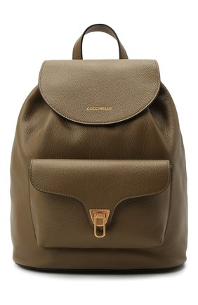 Женский рюкзак beat soft COCCINELLE хаки цвета, арт. E1 IF6 14 01 01   Фото 1