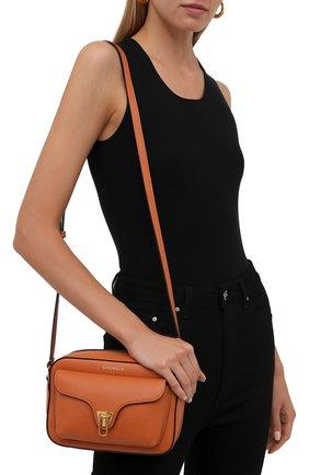 Женская сумка beat soft COCCINELLE оранжевого цвета, арт. E1 IF6 15 02 01   Фото 2
