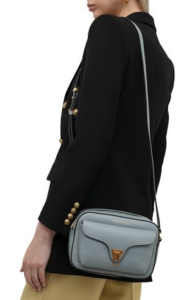 Женская сумка beat soft COCCINELLE светло-голубого цвета, арт. E1 IF6 15 02 01   Фото 2