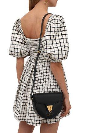 Женская сумка beat soft COCCINELLE черного цвета, арт. E1 IF6 15 03 01   Фото 2