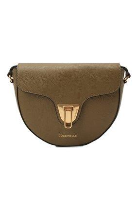 Женская сумка beat soft COCCINELLE хаки цвета, арт. E1 IF6 15 03 01   Фото 1