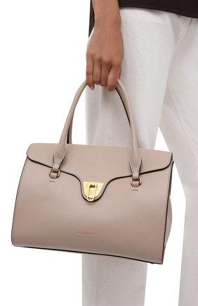 Женская сумка beat soft COCCINELLE светло-розового цвета, арт. E1 IF6 18 01 01   Фото 2