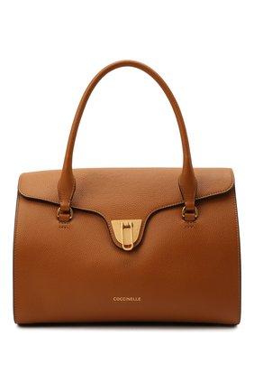 Женская сумка beat soft COCCINELLE коричневого цвета, арт. E1 IF6 18 01 01   Фото 1