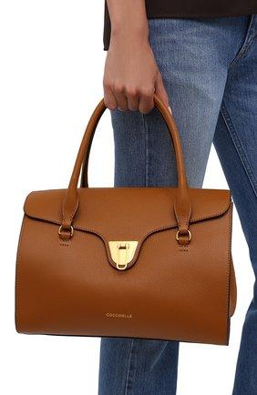 Женская сумка beat soft COCCINELLE коричневого цвета, арт. E1 IF6 18 01 01   Фото 2