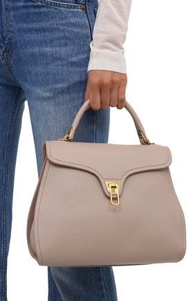 Женская сумка marvin COCCINELLE светло-розового цвета, арт. E1 IP0 18 03 01   Фото 2