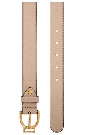 Женский кожаный ремень COCCINELLE светло-розового цвета, арт. E3 IZ5 11 36 01   Фото 2