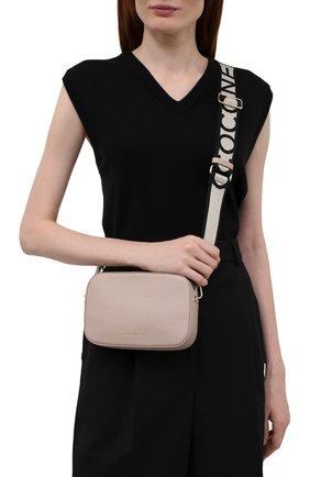 Женская сумка tebe COCCINELLE светло-розового цвета, арт. E5 IV3 55 I1 07   Фото 2