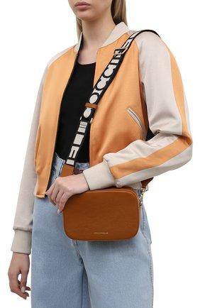 Женская сумка tebe COCCINELLE коричневого цвета, арт. E5 IV3 55 I1 07   Фото 2