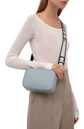 Женская сумка tebe COCCINELLE светло-голубого цвета, арт. E5 IV3 55 I1 07   Фото 2