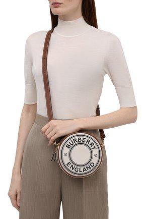 Женская сумка louise BURBERRY кремвого цвета, арт. 8041309 | Фото 2