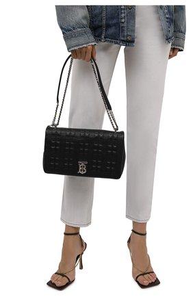 Женская сумка lola medium BURBERRY черного цвета, арт. 8022597 | Фото 2