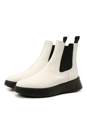 Женские комбинированные ботинки h562 HOGAN белого цвета, арт. HXW5620DR30Q6F | Фото 1