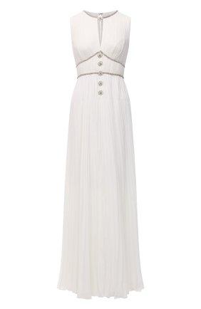 Женское платье SELF-PORTRAIT белого цвета, арт. PF21-060A | Фото 1