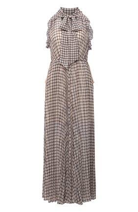 Женское платье SELF-PORTRAIT бежевого цвета, арт. PF21-062 | Фото 1