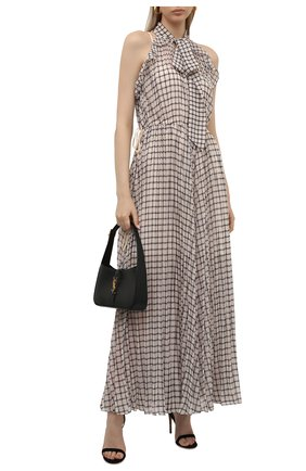Женское платье SELF-PORTRAIT бежевого цвета, арт. PF21-062 | Фото 2