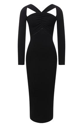 Женское платье SELF-PORTRAIT черного цвета, арт. PF21-083 | Фото 1