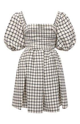Женское платье SELF-PORTRAIT кремвого цвета, арт. PF21-085NA | Фото 1