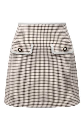 Женская юбка SELF-PORTRAIT бежевого цвета, арт. PF21-098A | Фото 1