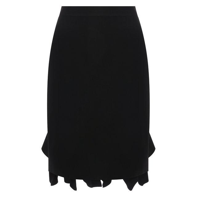 Шерстяная юбка Bottega Veneta