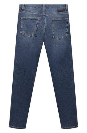 Детские джинсы DIESEL синего цвета, арт. J00196-KXB9S   Фото 2 (Материал внешний: Хлопок; Ростовка одежда: 10 - 11 лет   140 - 146см, 12 лет   152 см, 13 - 15 лет   158 см, 16 лет   164 см, 8 лет   128 см)