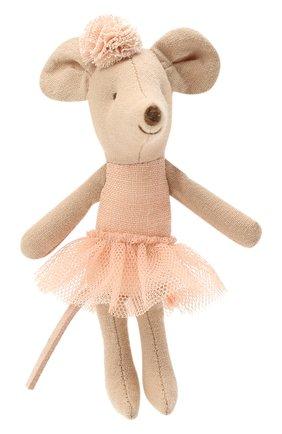 Детского игрушка мышка-балерина младшая сестра MAILEG разноцветного цвета, арт. 16-1720-00 | Фото 1