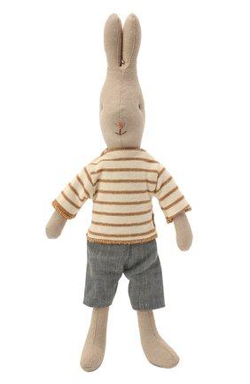 Детского игрушка кролик 2 MAILEG бежевого цвета, арт. 16-9220-00 | Фото 1