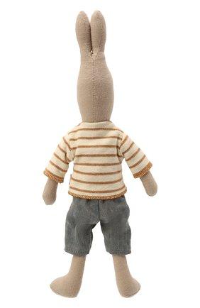 Детского игрушка кролик 2 MAILEG бежевого цвета, арт. 16-9220-00 | Фото 2