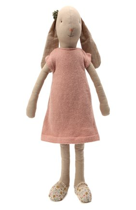 Детского игрушка заяц MAILEG бежевого цвета, арт. 16-9501-00 | Фото 1