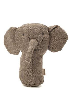 Детского погремушка слон MAILEG серого цвета, арт. 16-8917-00 | Фото 1