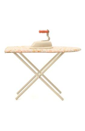 Детского игрушечная гладильная доска с утюгом MAILEG бежевого цвета, арт. 11-1100-00 | Фото 2