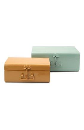 Детского набор из двух игрушечных чемоданов для хранения MAILEG разноцветного цвета, арт. 19-0532-00 | Фото 1
