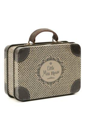 Детского игрушечный чемодан  MAILEG коричневого цвета, арт. 20-0204-00 | Фото 2
