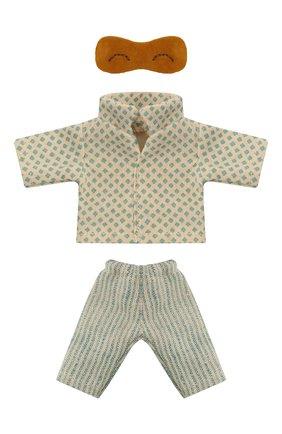 Детского игрушечная пижама для мышонка папы MAILEG разноцветного цвета, арт. 16-1740-03 | Фото 1
