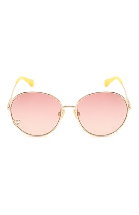 Детские солнцезащитные очки CHLOÉ розового цвета, арт. CC0006S 004 | Фото 2