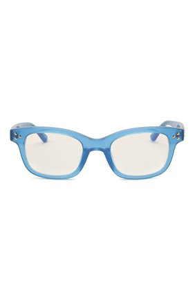 Женские оправа MATTHEW WILLIAMSON синего цвета, арт. MW31C11 0PT | Фото 3 (Тип очков: Оправа; Оптика Гендер: оптика-женское; Очки форма: Прямоугольные)