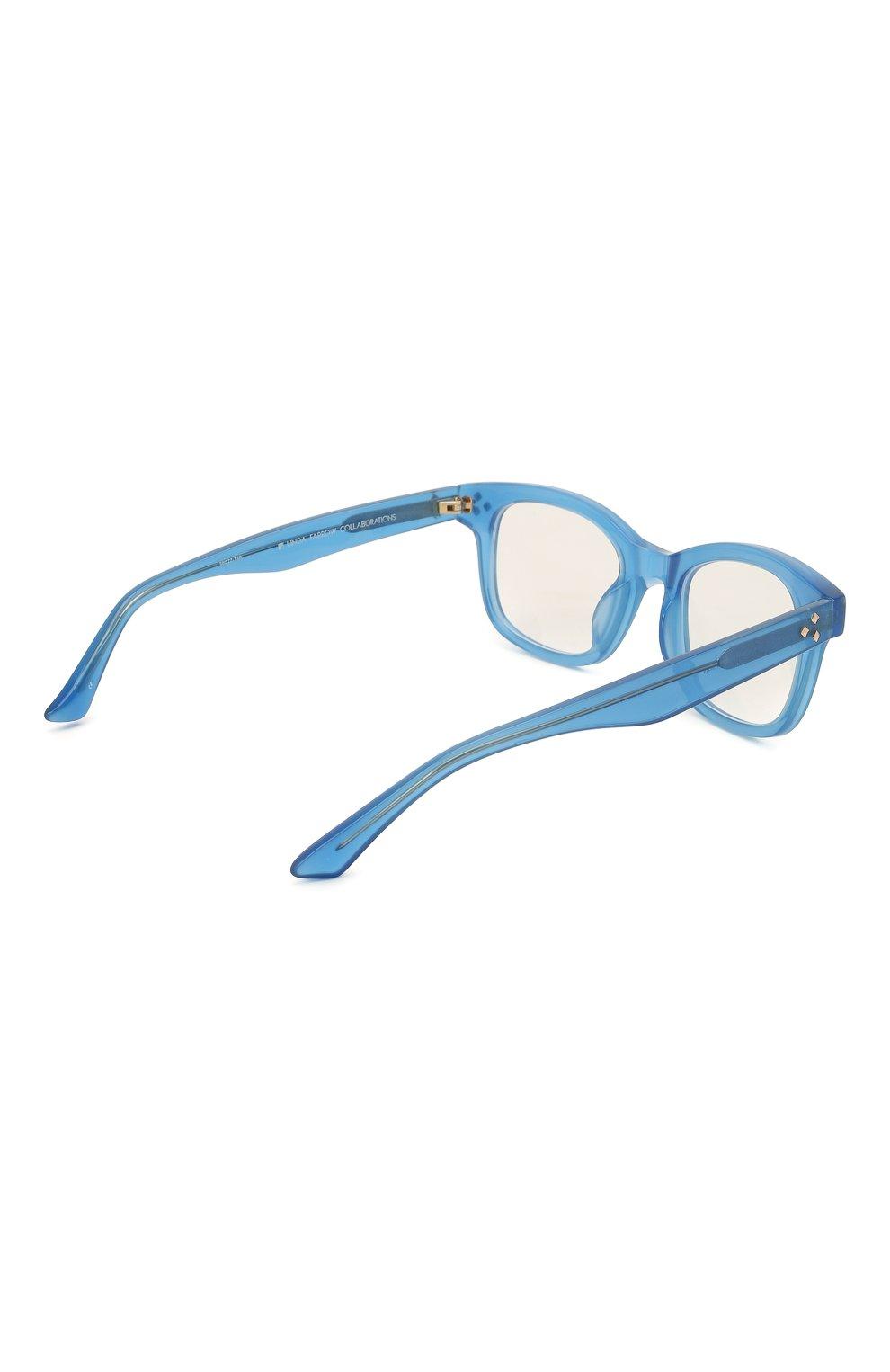 Женские оправа MATTHEW WILLIAMSON синего цвета, арт. MW31C11 0PT | Фото 4 (Тип очков: Оправа; Оптика Гендер: оптика-женское; Очки форма: Прямоугольные)