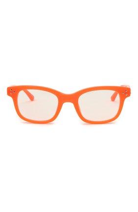 Женские оправа MATTHEW WILLIAMSON оранжевого цвета, арт. MW31C6 0PT | Фото 3 (Тип очков: Оправа; Оптика Гендер: оптика-женское; Очки форма: Прямоугольные)