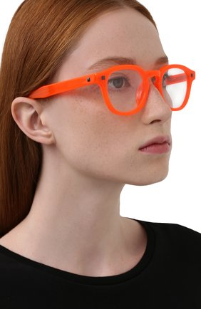 Женские оправа MATTHEW WILLIAMSON оранжевого цвета, арт. MW43C8 0PT | Фото 2
