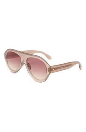 Женские солнцезащитные очки ISABEL MARANT розового цвета, арт. IM0001 FWM | Фото 1