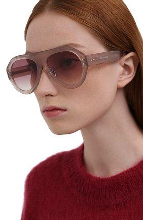 Женские солнцезащитные очки ISABEL MARANT розового цвета, арт. IM0001 FWM | Фото 2